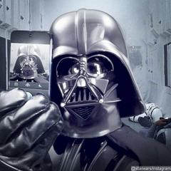 Darth Vader Posts Selfie on 'Star Wars' Newly Launched Instagram Account